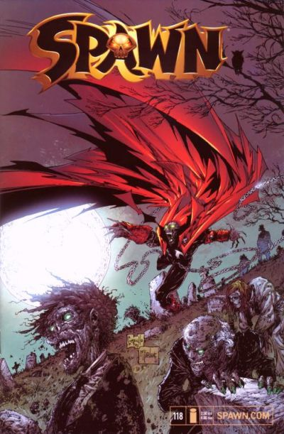 Cover for Spawn (Image, 1992 series) #118