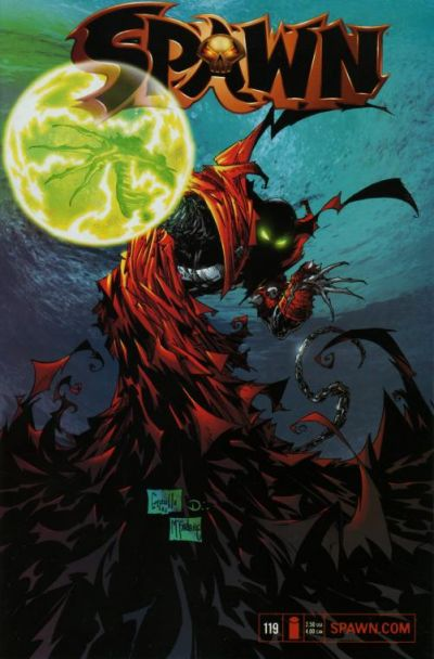 Cover for Spawn (Image, 1992 series) #119