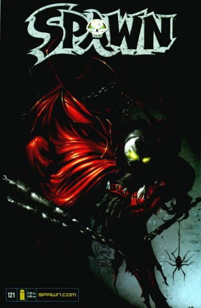 Cover for Spawn (Image, 1992 series) #121