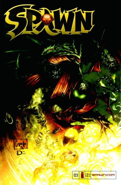 Cover for Spawn (Image, 1992 series) #123
