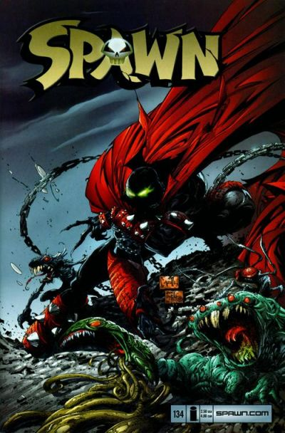 Cover for Spawn (Image, 1992 series) #134 [Newsstand]