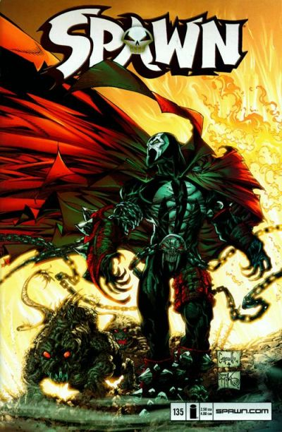 Cover for Spawn (Image, 1992 series) #135