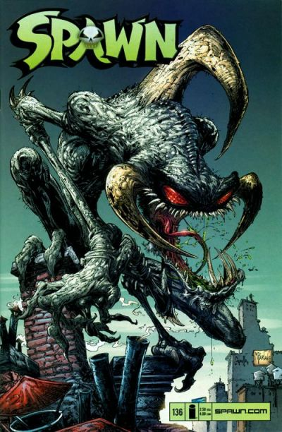 Cover for Spawn (Image, 1992 series) #136