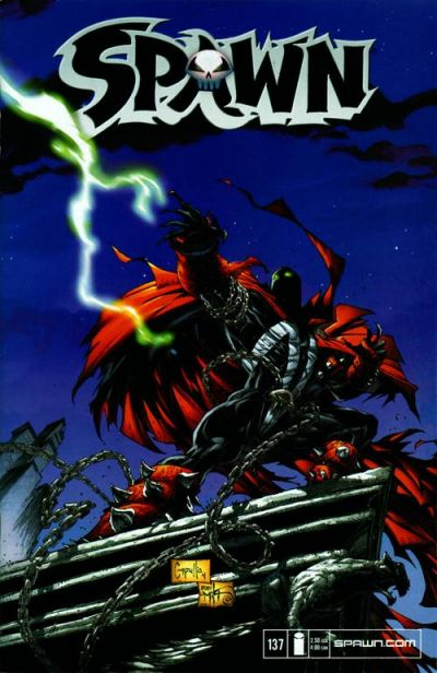 Cover for Spawn (Image, 1992 series) #137