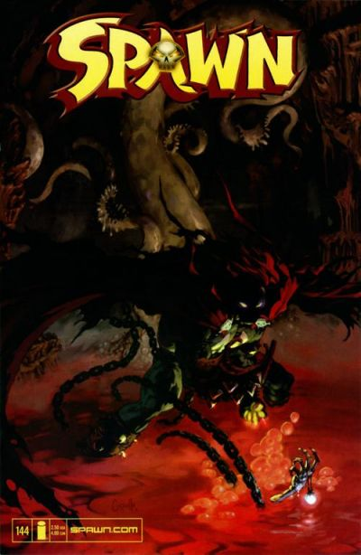 Cover for Spawn (Image, 1992 series) #144