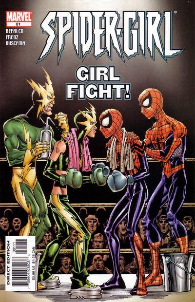 Cover for Spider-Girl (Marvel, 1998 series) #81