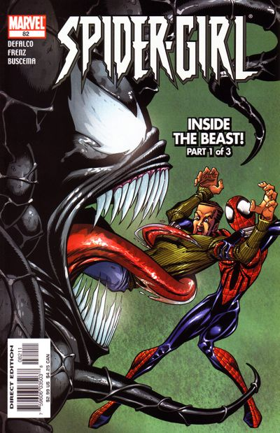 Cover for Spider-Girl (Marvel, 1998 series) #82