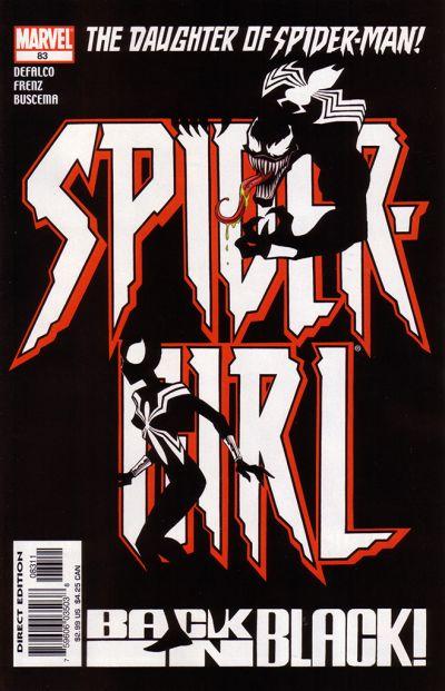 Cover for Spider-Girl (Marvel, 1998 series) #83