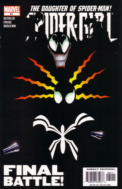 Cover for Spider-Girl (Marvel, 1998 series) #84