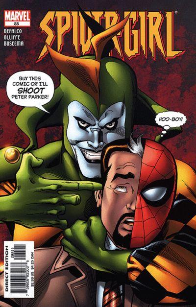 Cover for Spider-Girl (Marvel, 1998 series) #85