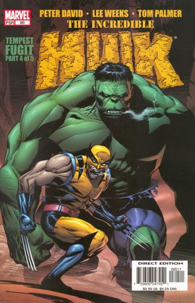 Cover for Incredible Hulk (Marvel, 2000 series) #80