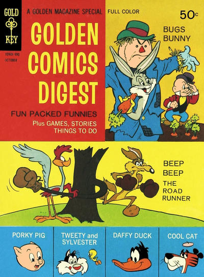 Cover for Golden Comics Digest (Western, 1969 series) #6