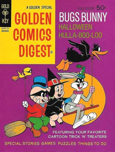 Cover for Golden Comics Digest (Western, 1969 series) #26