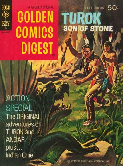 Cover for Golden Comics Digest (Western, 1969 series) #31
