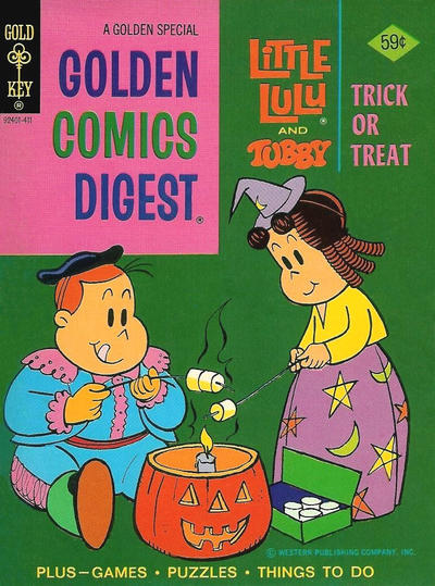 Cover for Golden Comics Digest (Western, 1969 series) #40