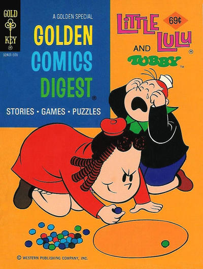 Cover for Golden Comics Digest (Western, 1969 series) #46 [Gold Key]