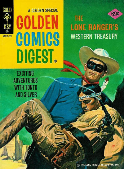Cover for Golden Comics Digest (Western, 1969 series) #48