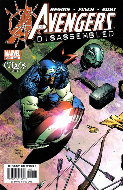 Cover for Avengers (Marvel, 1998 series) #503 [Direct Edition]