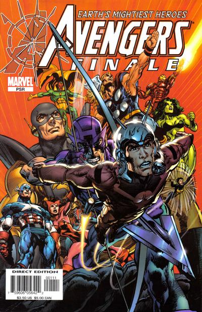 Cover for Avengers Finale (Marvel, 2005 series) #1