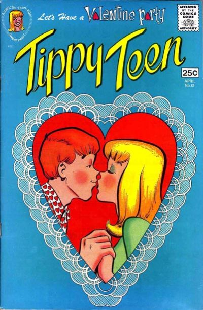 Cover for Tippy Teen (Tower, 1965 series) #12