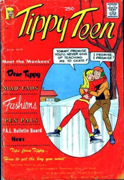 Cover for Tippy Teen (Tower, 1965 series) #13