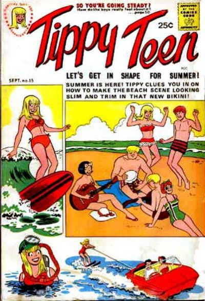 Cover for Tippy Teen (Tower, 1965 series) #15