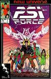 Cover for Psi-Force (Marvel, 1986 series) #1 [Direct]