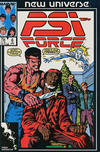 Cover for Psi-Force (Marvel, 1986 series) #6 [Direct]