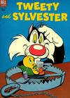 Cover for Tweety and Sylvester (Dell, 1954 series) #4