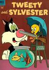 Cover for Tweety and Sylvester (Dell, 1954 series) #7