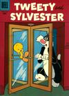 Cover for Tweety and Sylvester (Dell, 1954 series) #12