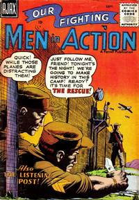 Cover Thumbnail for Men in Action (Farrell, 1957 series) #3