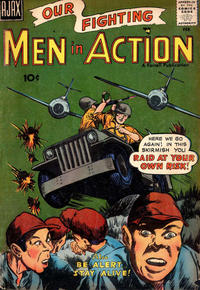 Cover Thumbnail for Men in Action (Farrell, 1957 series) #5