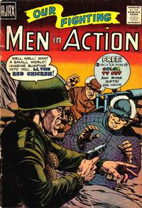 Cover Thumbnail for Men in Action (Farrell, 1957 series) #6