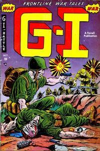 Cover Thumbnail for G-I in Battle (Farrell, 1952 series) #2