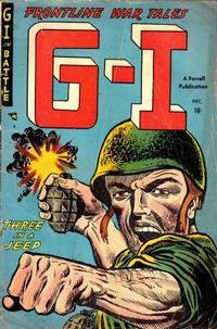 Cover for G-I in Battle (Farrell, 1952 series) #3