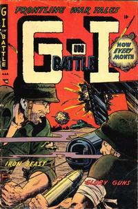 Cover Thumbnail for G-I in Battle (Farrell, 1952 series) #6