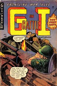 Cover Thumbnail for G-I in Battle (Farrell, 1952 series) #9