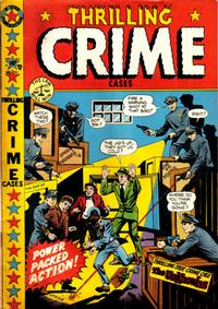 Cover Thumbnail for Thrilling Crime Cases (Star Publications, 1950 series) #41