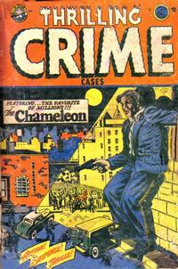 Cover Thumbnail for Thrilling Crime Cases (Star Publications, 1950 series) #43