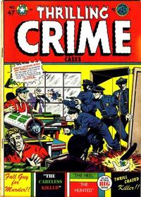 Cover Thumbnail for Thrilling Crime Cases (Star Publications, 1950 series) #47
