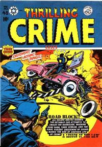 Cover Thumbnail for Thrilling Crime Cases (Star Publications, 1950 series) #48