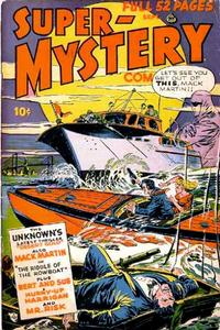 Cover Thumbnail for Super-Mystery Comics (Ace Magazines, 1940 series) #v8#1