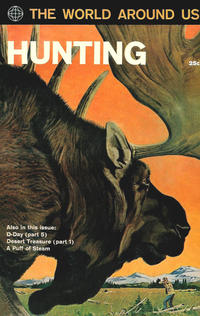 Cover Thumbnail for The World Around Us (Gilberton, 1958 series) #31 - Hunting