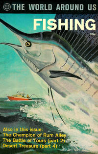 Cover Thumbnail for The World Around Us (Gilberton, 1958 series) #34 - Fishing