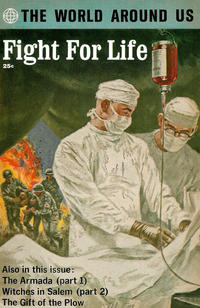 Cover Thumbnail for The World Around Us (Gilberton, 1958 series) #36 - Fight for Life