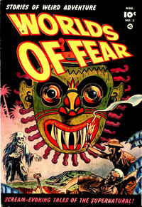 Cover Thumbnail for Worlds of Fear (Fawcett, 1952 series) #3
