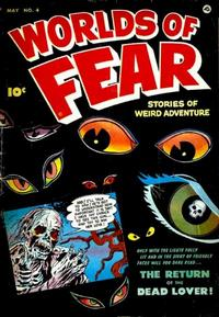 Cover Thumbnail for Worlds of Fear (Fawcett, 1952 series) #4