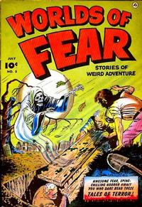 Cover Thumbnail for Worlds of Fear (Fawcett, 1952 series) #5