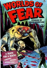 Cover Thumbnail for Worlds of Fear (Fawcett, 1952 series) #6